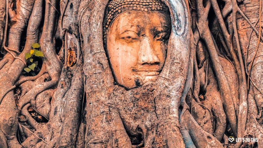 Ayutthaya Thailand - Wat mahathat