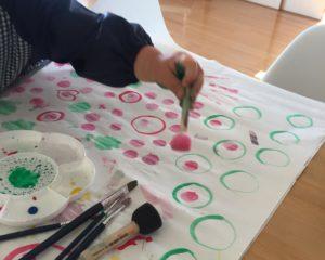 絵の具 絵具 製作 工作 5月