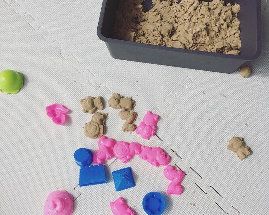お家で砂場 魔法の砂 チラカサンド