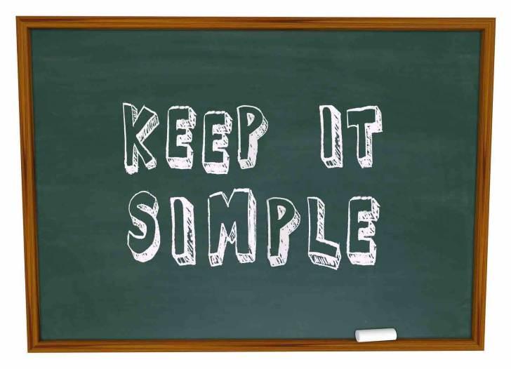 Freelance London copywriter keeping it simple