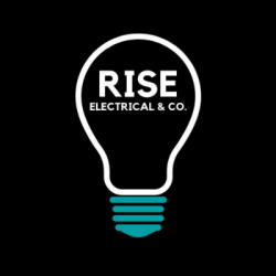 rise electrical logo