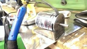 Motor mount side bracing TIG welding stainless to mild