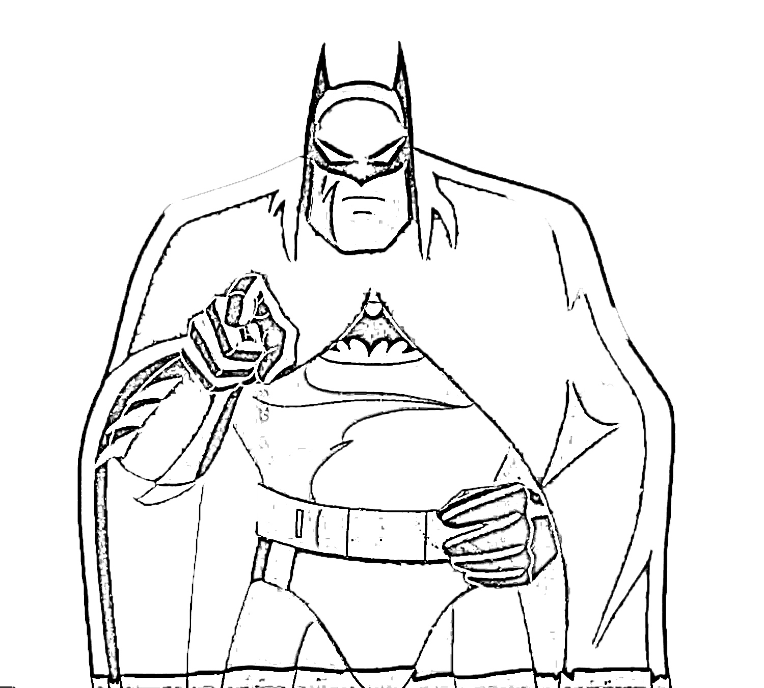 Talking Batman Coloring Pages Batman Free Coloring Pages