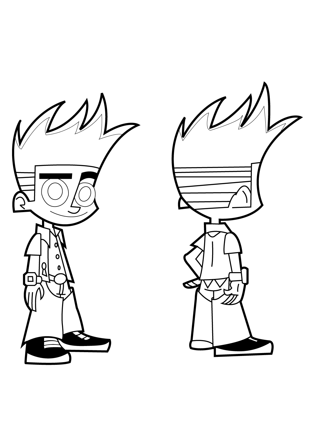 Johnny Test Coloring Book Coloring Pages