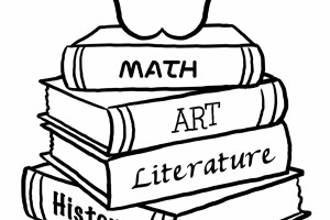 Fashion Old School Desk Coloring Coloring Pages