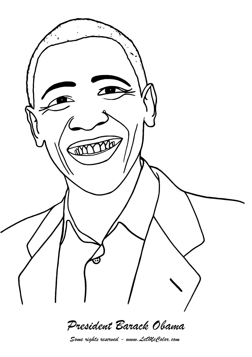 Obama jobs Free Printable Coloring Pages For Kids