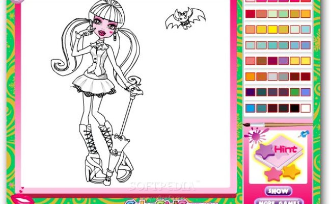 Coloring Games Online Colouring Pages Drawing Online