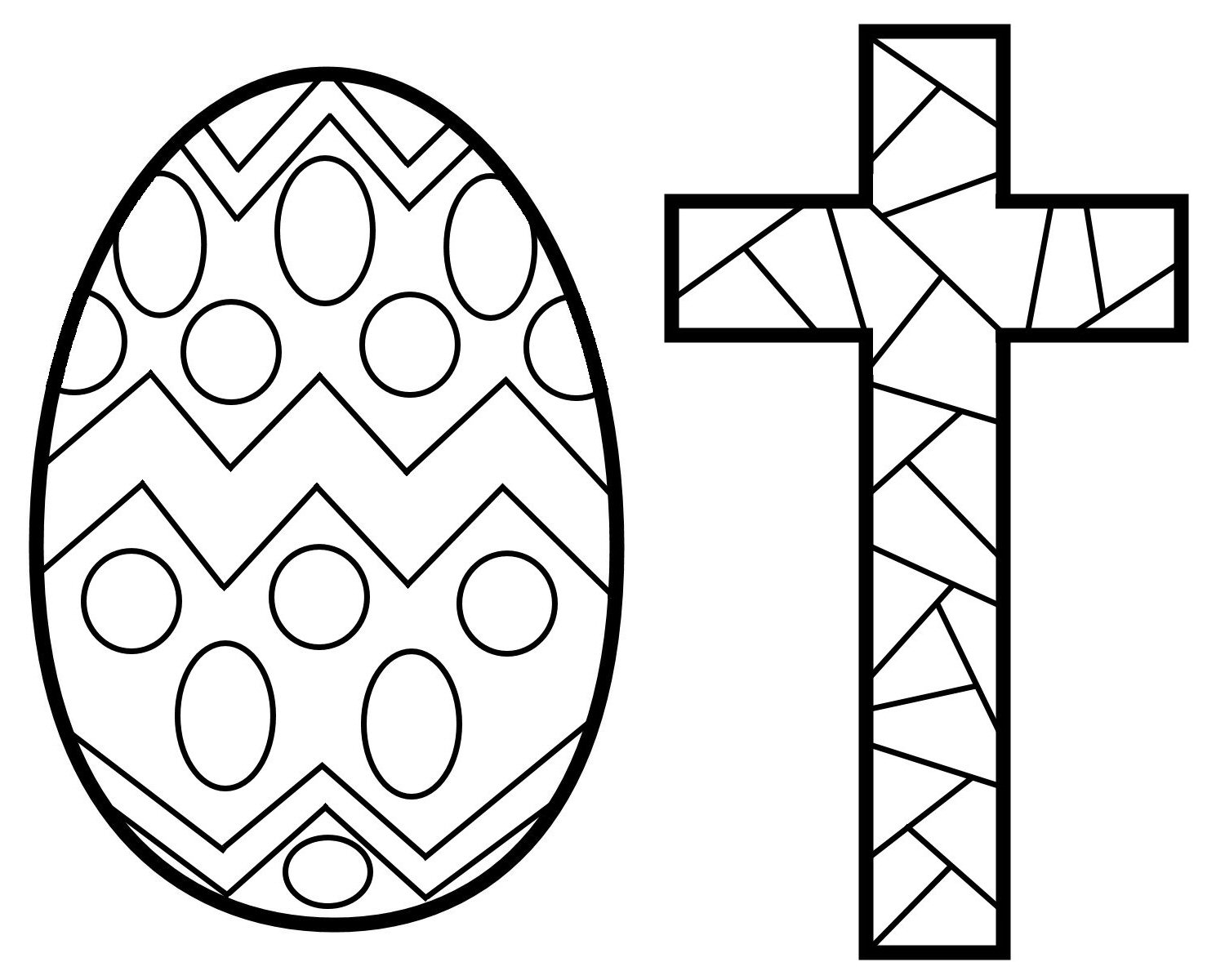 Easter Stained Glass Coloring Pages Free Printable Coloring Pages For Kids Colouring Pages