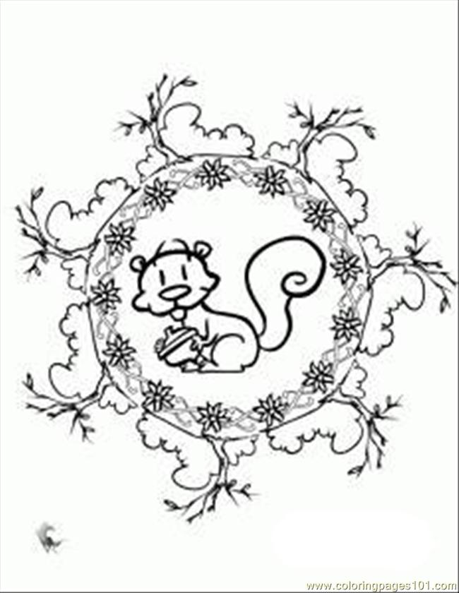 Squirell Tattoo coloring pages Free Printable Coloring