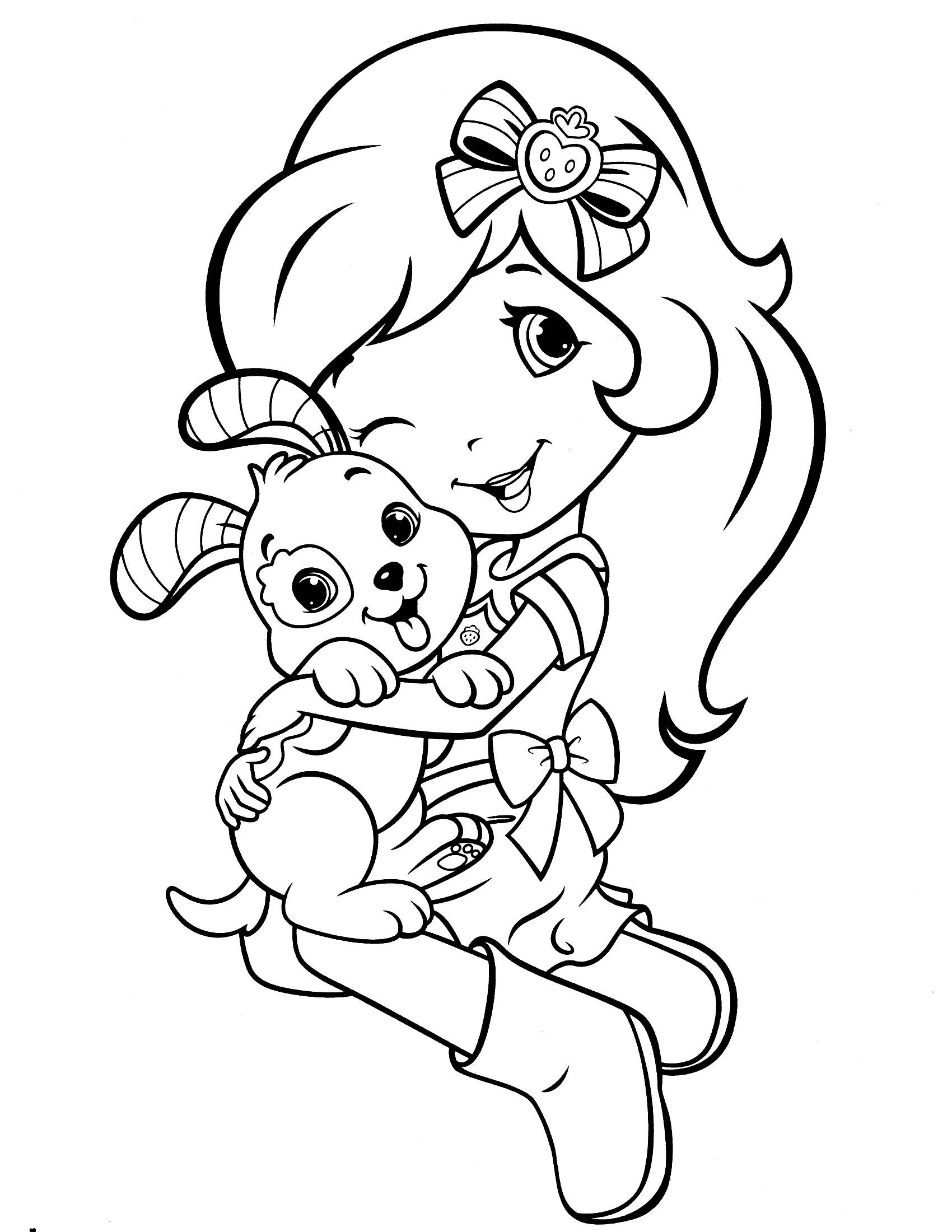Strawberry Shortcake Coloring Pages / Cool coloring pages