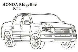 Jdm Civic Si Coloring Pages