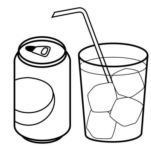 Beverage Can Coloring Pages Free Printable Coloring Pages