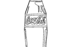 Coca Cola Bottles Coloring Pages