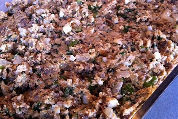 Southern-Style Sausage and Cornbread Stuffing (or Dressing)