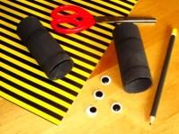 Výroba netopýrů z papíru - krok č.1