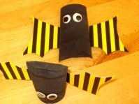 Výroba netopýrů z papíru - krok č.3