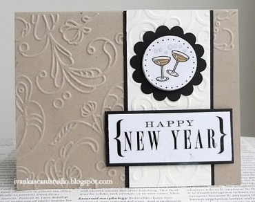 Novoroční přání - zdroj: IvankasCardStudio