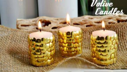 Zlaté novoroční svíčky - zdroj: SparkAndChemistry