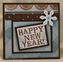 Novoroční přání - zdroj: KanataNewfPaperCrafts