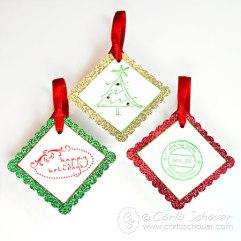 Vánoční jmenovky na dárky - zdroj: Carlaschauer