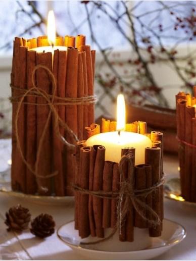 Svíčka se skořicí - zdroj: Wohnidee.wunderweib