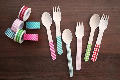 Různobarevné nádobí - zdroj: TheMerryThought