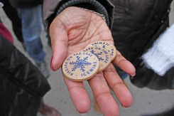 Tokens for Ice Wine & food