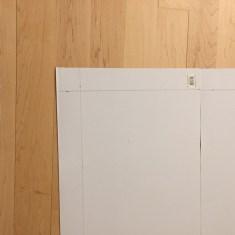 hacemos marco de 6 cm