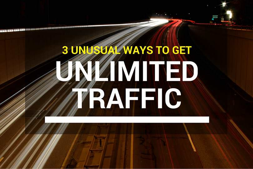 3 Unusual Ways To Increase Your Website's Traffic For Free