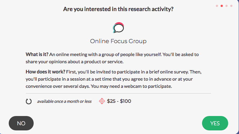 SurveyJunkie - Online Focus Group