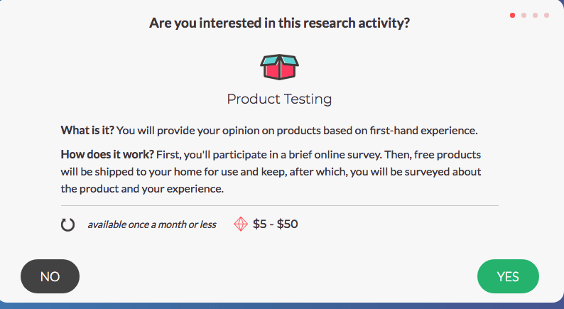 SurveyJunkie - Product Testing