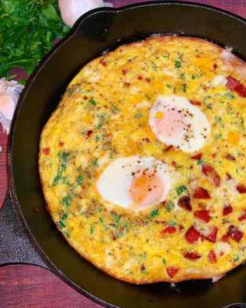 easy breakfast frittata recipe