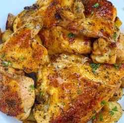 baked lemon pepper chicken recipe