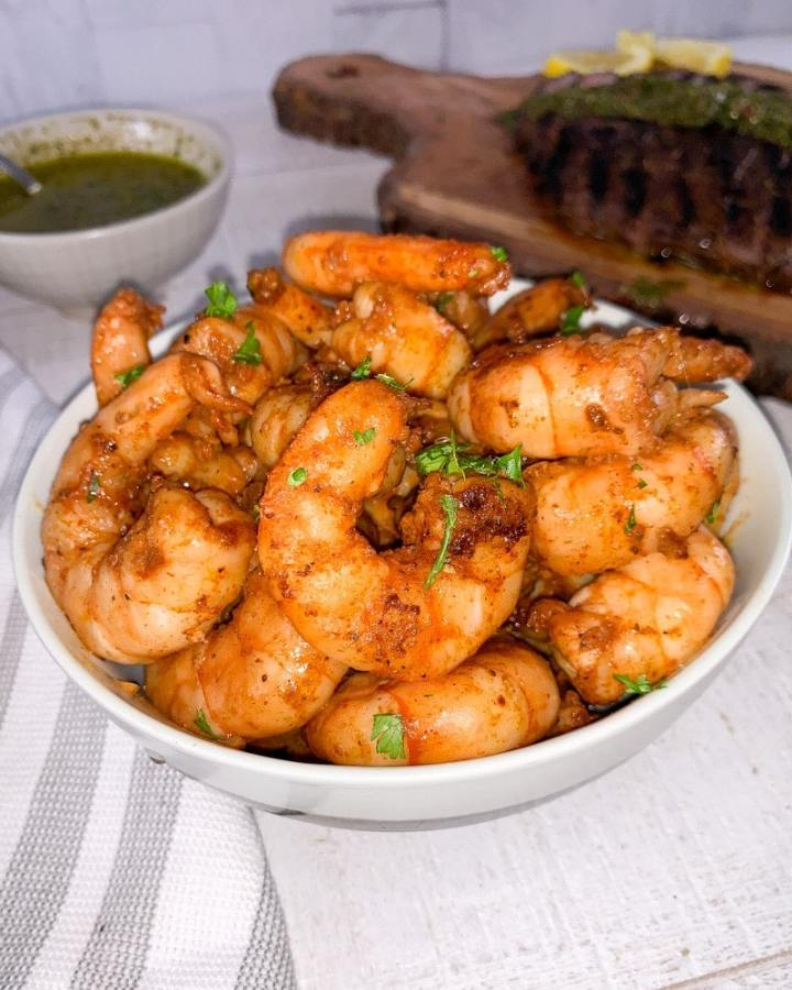 cajun butter shrimp