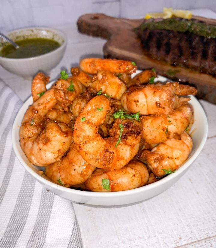 cajun butter shrimp