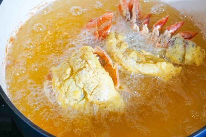 fried lobster