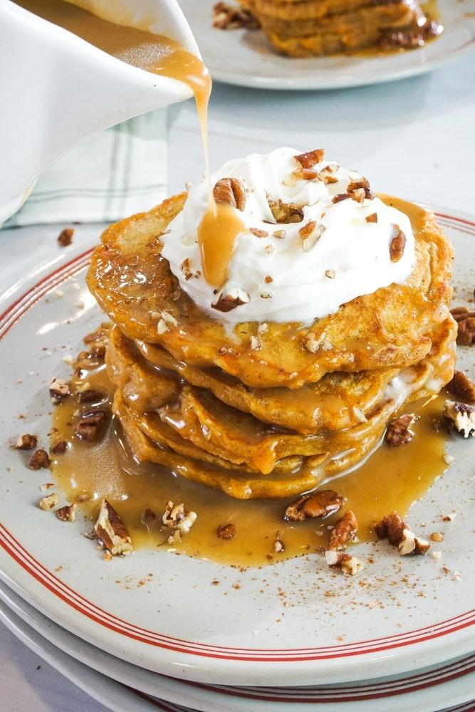 sweet potatoe pancakes