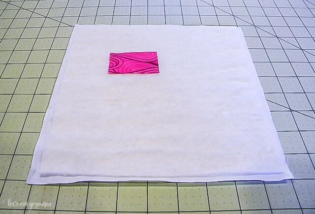 Bloomin' Quilt-As-You-Go Panel Tutorial by Let's Eat Grandpa