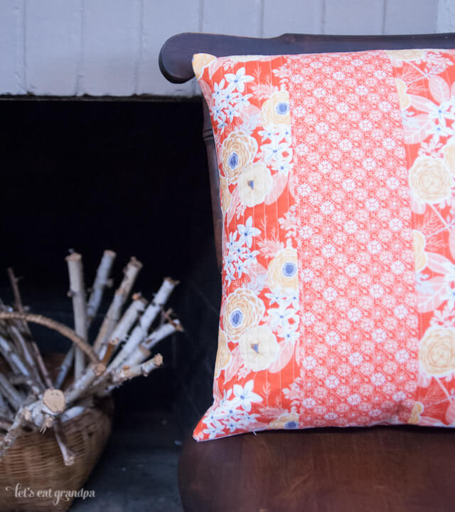 Pillow Envelope Enclosure Tutorial by Let's Eat Grandpa