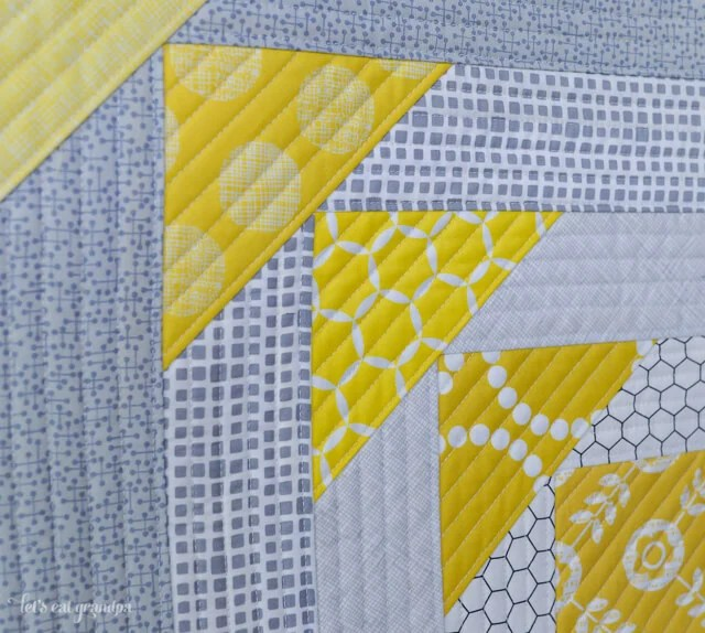 North West Quilt-As-You-Go Panel Tutorial by Let's Eat Grandpa #quilting