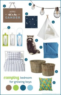Camping-Style Bedroom Inspiration for Two Growing Boys ...