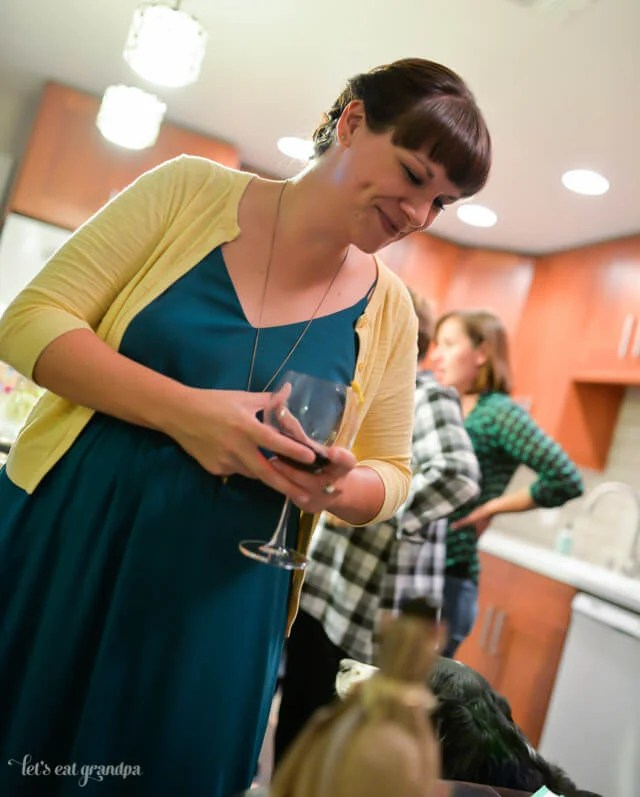 How to Throw a Wine Tasting Party with @worldmarket | Includes wines, pairings, printables, and how-tos! | www.letseatgrandpa.com