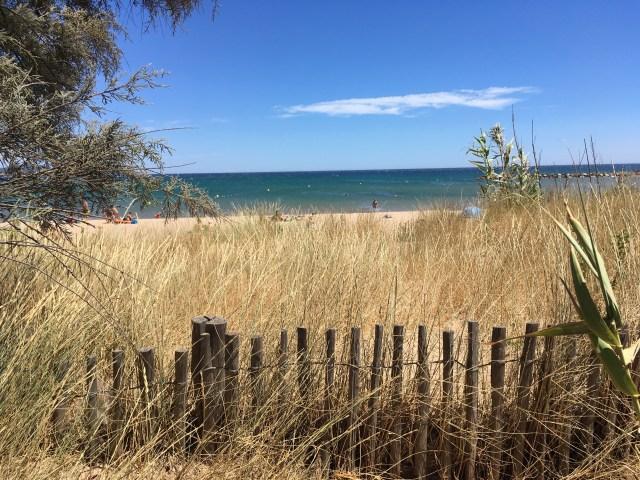 Plage de Saint-Aygulf, one of the best sand beaches near Saint-Raphael