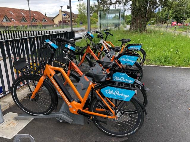Bike rental in Satigny
