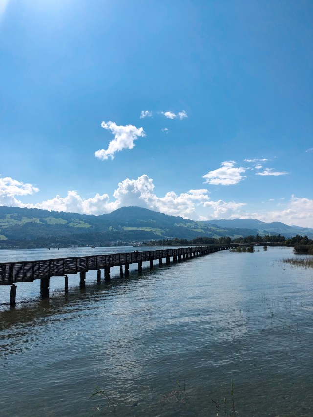 longest wooden bridge Switzerland