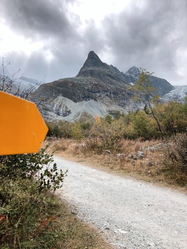 Ferpècle Hike Val d'Herens