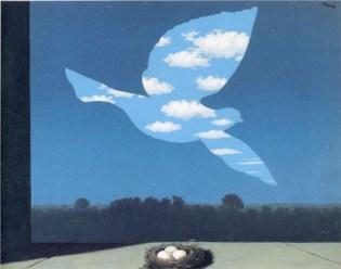 "Magritte's ""The Return"""