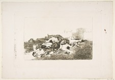"""""""Even Worse"""" from Goya's """"Disasters of War"""""""