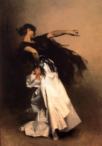 The Spanish Dancer, John Singer Sargent's El Jaleo