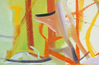 "Detail from Amy Sillman's ""Letters from Texas"""